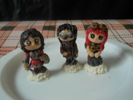 Mini Dolls - Steampunk by MayaElixir