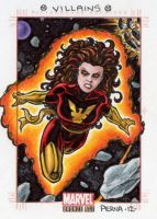 Dark Phoenix - Marvel Bronze Age by tonyperna