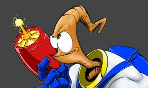 Earthworm Jim by AndrewFroedge