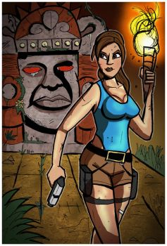 Tomb Raider and the Legends of the Hidden Temple by Kyber02