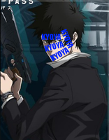 Kogami's Face by xPawhaha