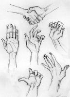 Day 239 - Hands Practice by Chame