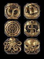 pirate  elements for game by DartP