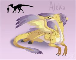 Ref Sheet: Aleka by nooby-banana