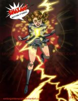 Evil Mary Marvel by ArtistAbe