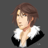 My Poor attempt at Squall by dementedmonkey