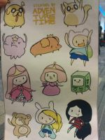 Adventure Time stickers by thereanimatedunknown