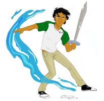 Percy Jackson by DrHackey
