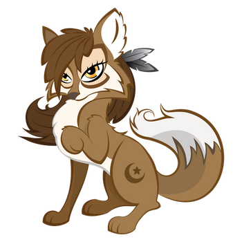 Wolf (MLP:FiM Style) by Soulshifted
