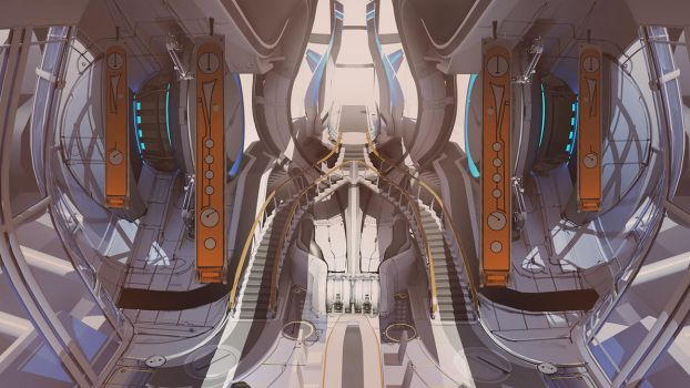Throne Room - Main View by ikarus-tm