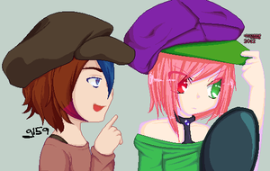 'Bro, if you don't want that hat then gimme' by grangerpixel