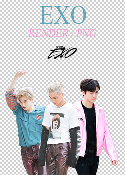 EXO - Mini Fanmeeting 20160611 Render/Pack PNG by EXOEDITIONS