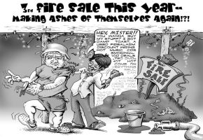 Jintana Plaza Fire Sale by sethness