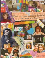 PRIDE collage by RavynLaRue