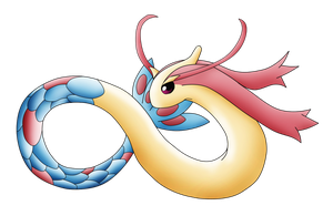 Pokemon Number 350- Milotic by KingofAnime-KoA