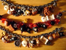 Pirates' bracelets by Bojo-Bijoux