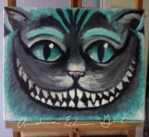 Cheshire Cat by TheCagedBird