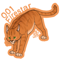 001: Firestar by flywolfsark