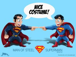 Man of Steel : Superman new 52 by JaZaDesign