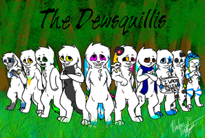 The Dewsquillis by Ice-Artz