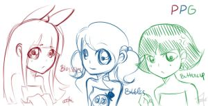 PPG sketchy by cartoonmaniack