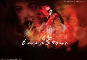 +Emma Stone by Luly-Editiion