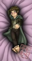 Commission: Samwise Body Pillow by kojika