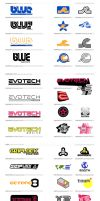 Game Racing Team Logos by emmgeetee