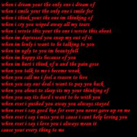 everything to me poem 4 danny by crunchie-girl
