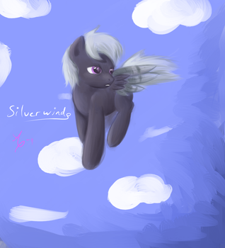 Silverwind Request by SweetieBelle-FiM