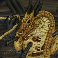 -Odjn: Undead Dragon- by Eltharion