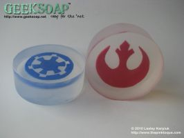 Star Wars GEEKSOAP Geek Soap by pinktoque