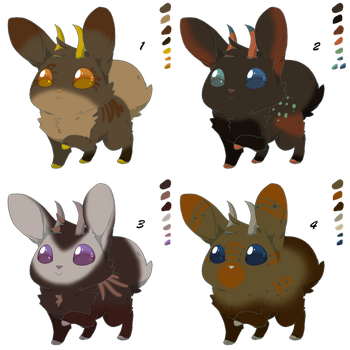 Jackalopes 0016-0020 by GreywaterAlley