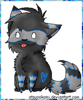 Raccoon Wolf Point Adopt-SOLD by alg1234