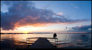 Mendota Sunset 2 by nofrojeff2000