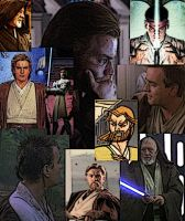 Collage of Obi-Wan Kenobi by LadyIlona1984