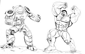 Hulk Buster Iron Man Coloring Page Sketch Template Vs By Eso2001 D2xwz3y