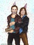 Rickyl   happy birthday Andrew Lincoln by zelldinchit