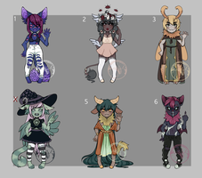 Monstergore Adopts (1/6 OPEN) *Reduced Set Price by SeafoamSnail