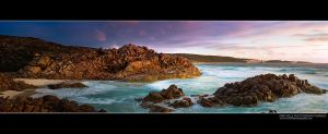 Injidup Beach Panorama by Furiousxr