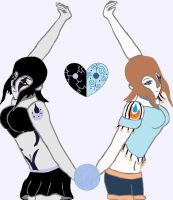 Shadow and Inner Heart Ace: Inverted Darkness by animedugan