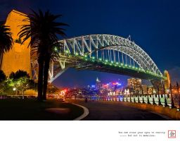 Sydney Habour Bridge HDR by gizmo17