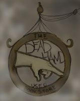The Dead Hand Used Bookstore by Lupis-Fox