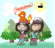 Game Grumps do Fire Red by ElSpotty