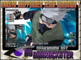 Kakashi Hatake Theme Windows 7 by Danrockster