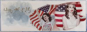 4th of July | Timeline Cover #15 by ElenaGraveyardgirl