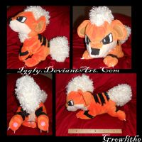 Commission- Growlithe by F4y3
