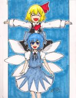 Copic 2: Baka x2 by StudioLG