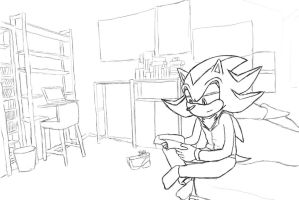 Chill time for Shadow Sketch by SIM0N2