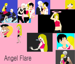 Angel Flare {my DP oc} by WolyyPuppy
